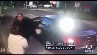 Chofer de Cabify golpea a mujer policía