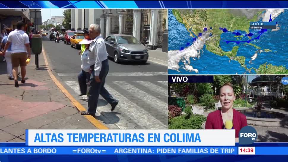 Colima registra temperaturas de hasta 36 grados