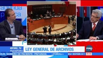 A punto de aprobarse en el Senado, la Ley General de Archivos