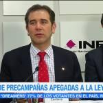 INE pide precampañas apegadas a la ley