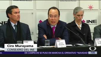 INE afirma que habrá rigurosa fiscalización de precandidatos para 2018