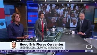 Encuentro Social hace alianza con Morena y PT, Hugo Flores en Despierta