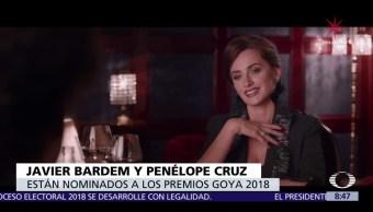 Javier Bardem y Penélope Cruz, nominados al Goya