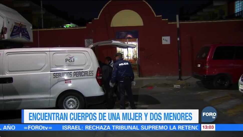 Encuentran muertas a tres personas en vivienda de la colonia Cuchilla Pantitlán