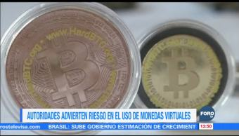 Autoridades bancarias de México alertan sobre el uso criptomonedas
