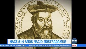 Efeméride 'En Una Hora': A 514 años del nacimiento de Nostradamus