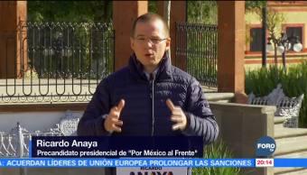 Anaya: Debe escribirse una historia diferente en México