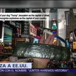 Estado Islámico amenaza a EU por reconocer a Jerusalén como capital israelí