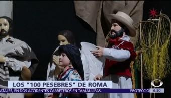 Inauguran en Roma exposición de nacimientos originarios de 41 naciones
