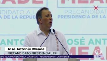 José Antonio Meade se reúne con militantes del PRI en Chiapas