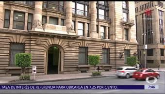 Banxico eleva tasa de interés de referencia a 7.25 por ciento