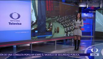 Las noticias, con Danielle Dithurbide Programa del 15 de diciembre del 2017