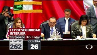 Tras 16 horas de discusión, Senado aprueba la Ley de Seguridad Interior