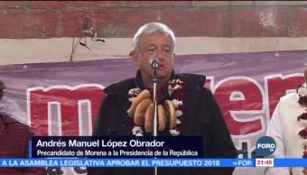 AMLO realiza gira en el Estado de México