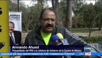 Ahued visita el Bosque de Chapultepec
