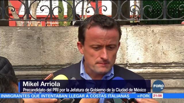 Mikel Arriola asiste a informe delegacional en Magdalena Contreras