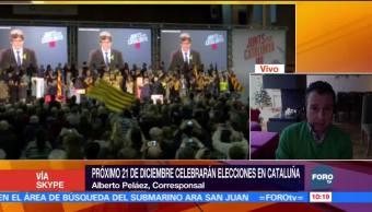 El próximo 21 de diciembre celebrarán elecciones en Cataluña