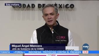 Se han atendido 6 mil 89 inmuebles dañados, dice Mancera