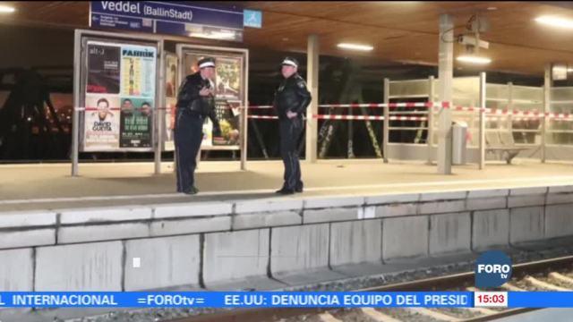 Reportan explosión en estación de trenes en Alemania