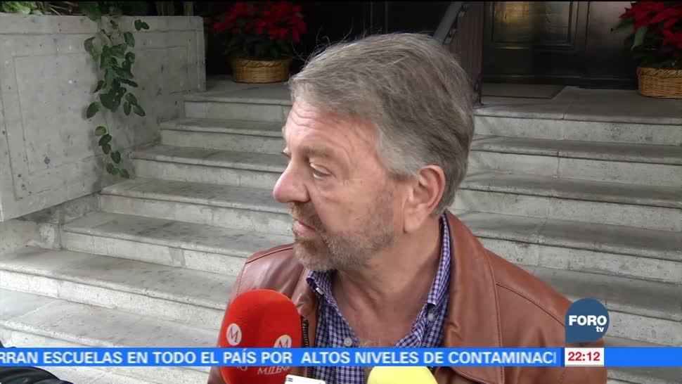 Jorge Castañeda visita en su casa a Elba Esther Gordillo