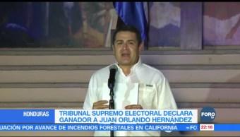Juan Orlando Hernández, primer presidente de Honduras en ser reelecto