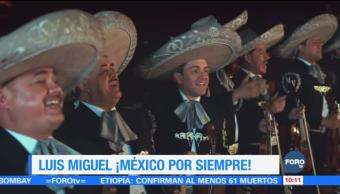 #LoEspectaculardeME: Dan disco de platino a Luis Miguel por nuevo álbum