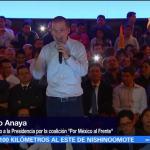 Anaya se reúne con liderazgos del PAN, PRD y MC