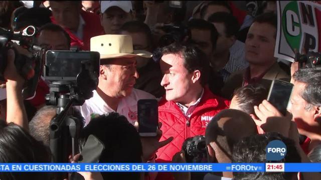 Mikel Arriola se reúne con vecinos de Milpa Alta