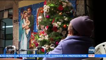 Navidad en el asilo, muchos adultos mayores viven