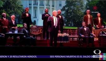 Parque de Disney en Orlando presenta robot de Donald Trump
