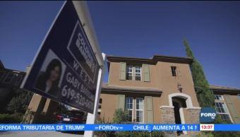 Venta de casas usadas en Estados Unidos repunta en noviembre