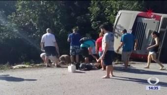 Ocho estadounidenses, entre los 12 muertos en Quintana Roo