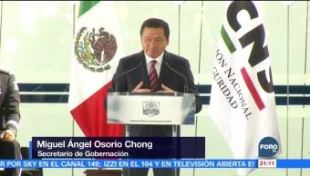 No podemos permitir que la delincuencia avance: Osorio Chong