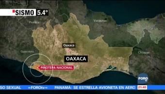 Sismo de magnitud 5.4 se percibe en la CDMX