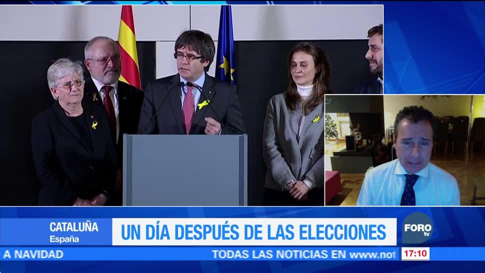 Un día después de las elecciones en Cataluña