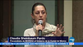 Pide Sheinbaum no condicionar recursos para reconstrucción