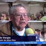 Don Armando ha restaurado más de 30 mil figuras del niño Dios