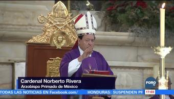 Norberto Rivera oficia su última misa de Noche Buena en Catedral