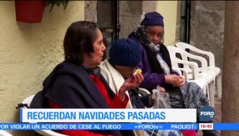 Personas de la tercera edad pasan la Navidad en soledad en asilos