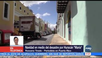 Miles de puertorriqueños festejaron Navidad sin servicio eléctrico