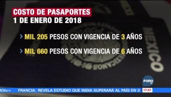 Subirán los precios de los pasaportes en 2018