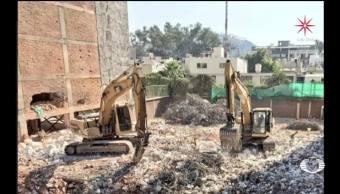 Concluye demolición en Coquimbo 911 en la CDMX