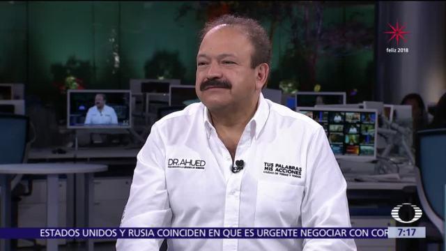 Armando Ahued, precandidato del PRD al Gobierno CDMX, en la mesa de Despierta