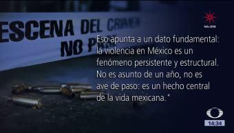 En 2017 aumentaron los delitos del fuero común en México