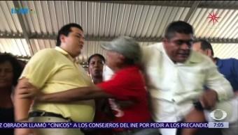 Así fue el primer día de precampaña de Ángel Aguirre Rivero