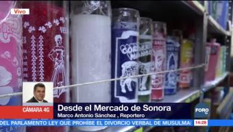 Amuletos para la buena suerte en el Mercado de Sonora