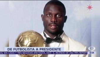 El exfutbolista George Weah será el presidente de Liberia