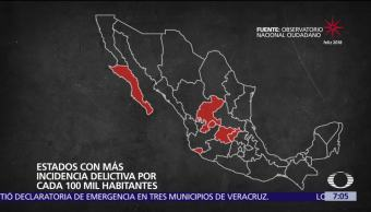2017 es considerado el año más violento en la historia de México