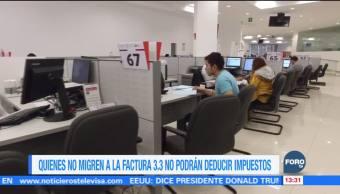 SAT pide a contribuyentes migrar a nueva versión de factura electrónica