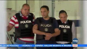 Alistan extradición de Borge a México; llegara el 4 de enero